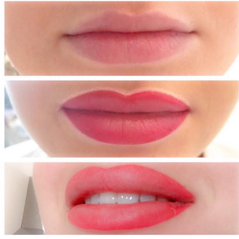 Contoure-Make-Up-Lippe