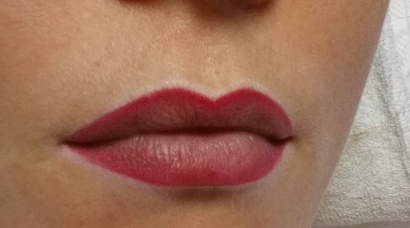 Permanent Make Up Lippe Frau
